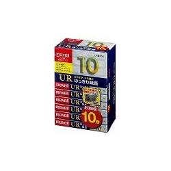 日立マクセル UR-10L 10P(N) オーディオテープ、ノーマル/タイプ1、録音時間10分、10本パック