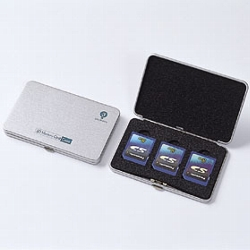 ロアス MCC-501 SDメモリカードケース(シルバー)