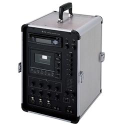 TOA KZ-65DC 移動用PAポータブルアンプ 65Wx2ch CD付