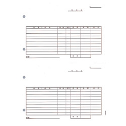 ピーシーエー PA1008F PA1008F 汎用伝票2面式(注文・仕入・出荷)