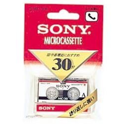 ソニー MC-30B マイクロカセット 30分