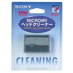 ソニー MGRCLD MICROMV用ヘッドクリーナー(乾式)