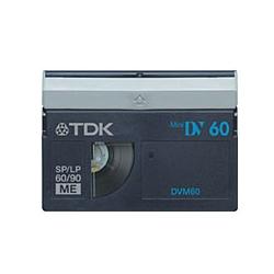 TDK DVM60BUX3A Mini DV 60min ブルー3巻パック