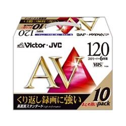 日本ビクター T-120AVL10 120分ビデオテープ10本パック(スタンダード)