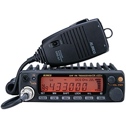 ALINCO DR-420HX アマチュア無線機 430MHz モービルタイプ 50W