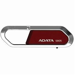 ADATA AS805-8G-RRD ADATA USBメモリー S805 スポーツタイプ USB2.0 8GBモデル (赤)