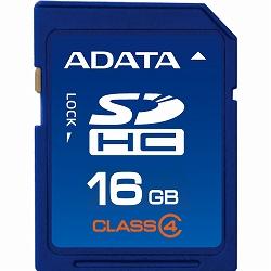 ADATA ASDH16GCL4-R ADATA SDHCカード Class4【16GB】