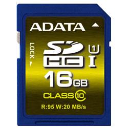 ADATA ASDH16GUI1CL10-R ADATA SDHCカード UHS-I U1【16GB】