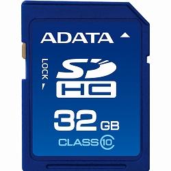 ADATA ASDH32GCL10-R ADATA SDHCカード Class10【32GB】