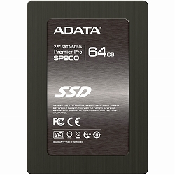 ioPLAZA【アイ・オー・データ直販サイト】ADATA ASP900S3-64GM-C ADATA 2.5インチSSD SP900 SATA3対応プレミアプロ高速モデル 64GB