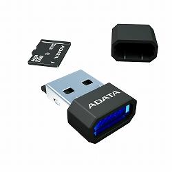 ADATA AUSDH32GCL4-RM3BKBL microSDHCカード Class4【32GB】リーダー/ライター付き(黒)