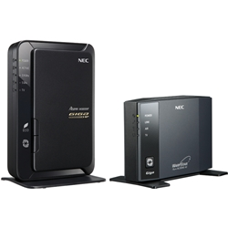 日本電気 PA-WG600HP/E AtermWG600HP イーサネットコンバータセット