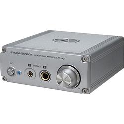 オーディオテクニカ AT-HA21 ヘッドホンアンプ (φ6.3ステレオ標準/φ3.5ステレオミニジャック両対応)