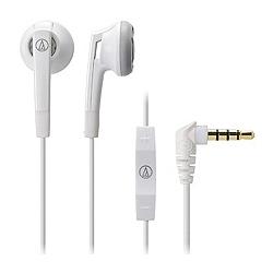 オーディオテクニカ ATH-C505i WH iPod/iPhone/iPad専用インナーイヤーヘッドホン ホワイト