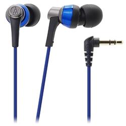 オーディオテクニカ ATH-CKR3 BL インナーイヤーヘッドホン ブルー