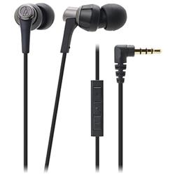 オーディオテクニカ ATH-CKR3i BK iPod/iPhone/iPad専用インナーイヤーヘッドホン ブラック