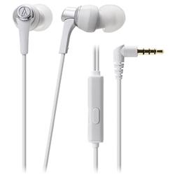 オーディオテクニカ ATH-CKR3iS WH スマートフォン用インナーイヤーヘッドホン ホワイト