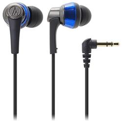 オーディオテクニカ ATH-CKR5 BL インナーイヤーヘッドホン ブルー