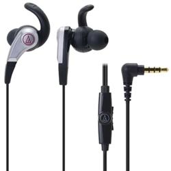 オーディオテクニカ ATH-CKX5iS BK SONIC FUEL スマートフォン用インナーイヤーヘッドホン ブラック