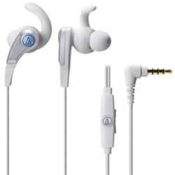 オーディオテクニカ ATH-CKX5iS WH SONIC FUEL スマートフォン用インナーイヤーヘッドホン ホワイト