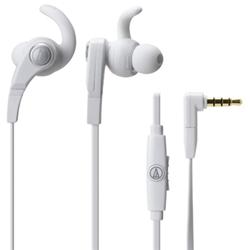 オーディオテクニカ ATH-CKX7iS WH SONIC FUEL スマートフォン用インナーイヤーヘッドホン ホワイト