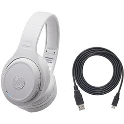 ioPLAZA【アイ・オー・データ直販サイト】オーディオテクニカ ATH-DWL500R WH デジタルワイヤレスヘッドホン ホワイト