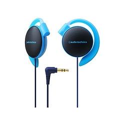 オーディオテクニカ ATH-EQ500 BL COLORS イヤフィットヘッドホン ブルー