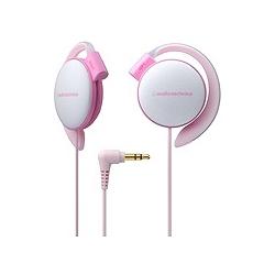 オーディオテクニカ ATH-EQ500 LPK COLORS イヤフィットヘッドホン ライトピンク