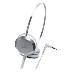 オーディオテクニカ ATH-ON303 WH ポータブルヘッドホン ホワイト