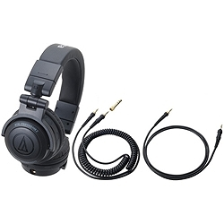 ioPLAZA【アイ・オー・データ直販サイト】オーディオテクニカ ATH-PRO500MK2 BK DJヘッドホン(着脱コードタイプ) ブラック