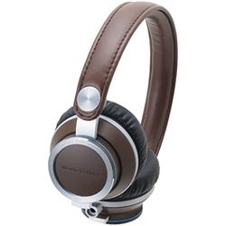 オーディオテクニカ ATH-RE700 BW ポータブルヘッドホン ブラウン