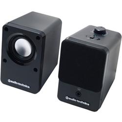オーディオテクニカ AT-SP102 BK デスクトップスピーカー ブラック