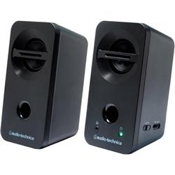 ioPLAZA【アイ・オー・データ直販サイト】オーディオテクニカ AT-SP93 BK デスクトップスピーカー ブラック