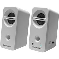 オーディオテクニカ AT-SP93 WH デスクトップスピーカー ホワイト