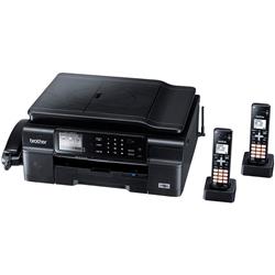 ブラザー工業 MFC-J980DWN-B A4インクジェットFAX複合機 PRIVIO BASIC デジタル子機2台/黒モデル