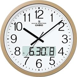 ioPLAZA【アイ・オー・データ直販サイト】カシオ計算機 IC-4100J-9JF 電波掛け時計 オフィス向け大型タイプ プログラム時報付き