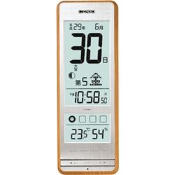 カシオ計算機 IDL-400NJ-7JF カシオ 温度計 湿度計 常時点灯 環境お知らせ 電波時計 壁掛時計