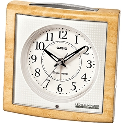 ioPLAZA【アイ・オー・データ直販サイト】カシオ計算機 TQT-251NJ-7JF カシオ 電子音アラーム 常時点灯 電波時計 置時計 クロック