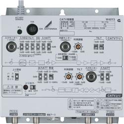 DXアンテナ W40Y3 CATV770MHz帯双方向増幅器40dB型
