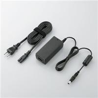 エレコム ACDC-PA1665BK 小型ノートPC用ACアダプター / PANASONIC / 16V