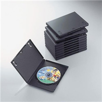 ioPLAZA【アイ・オー・データ直販サイト】エレコム CCD-DVD03BK DVDトールケース
