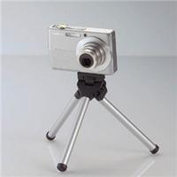 エレコム DGT-010SV ポケットサイズデジタルカメラスタンド シルバー