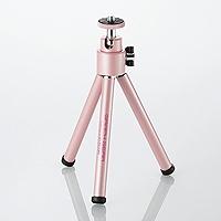 エレコム DGT-014PN デジカメ用三脚/グラフギア/ピンク