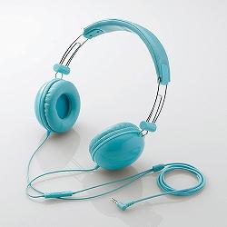 エレコム EHP-SMOH100BU スマートフォン用 ステレオヘッドホンマイク/オーバーヘッド/密閉型/ブルー