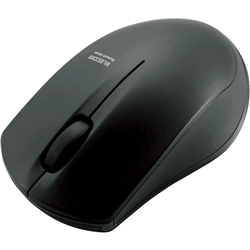ioPLAZA【アイ・オー・データ直販サイト】エレコム M-BT12BRBK IRマウス/M-BT12BRシリーズ/Bluetooth3.0/3ボタン/省電力/ブラック