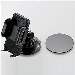 エレコム MPA-CH001BK スマートフォン用車載ホルダー/ブラック