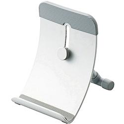 エレコム TB-DS004SV タブレットPC用 スタンド/フリーアングルタイプ (可変角度17°〜80°)/シルバー