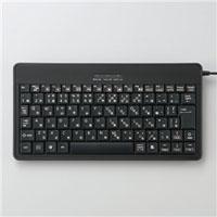 エレコム TK-FCM006BK USB & PS/2 82配列 コンパクトフルキーボード/メンブレン方式(ブラック)