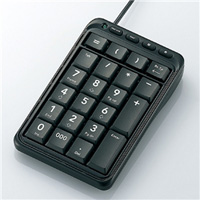エレコム TK-TCM001BK USBテンキーパッド / Excelマスター / ブラック