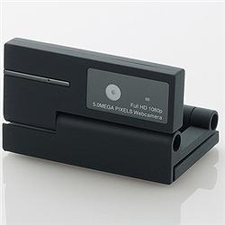 エレコム UCAM-DLI500TBK 500万画素Webカメラ/CMOS/ブラック